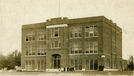 High School, Granada Minnesota, 1914