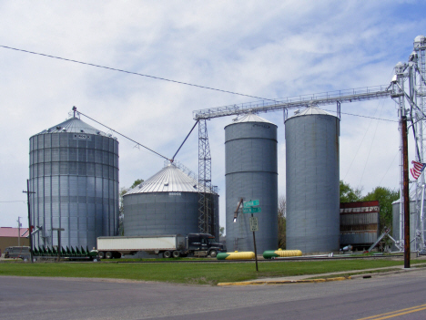 Grain elevators, Granada Minnesota, 2014