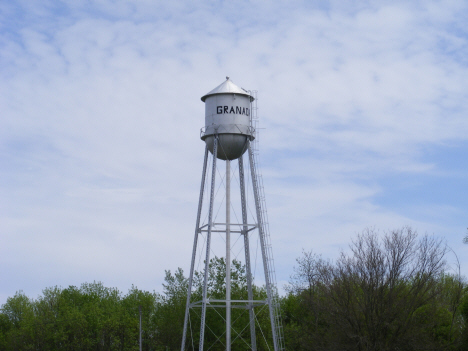 Water tower, Granada Minnesota, 2014