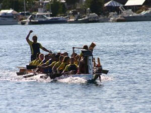 North Shore Dragon Boat Festival, Grand Marais Minnesota
