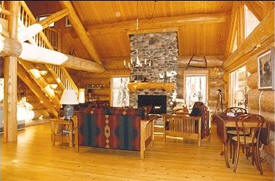 Senty Log Homes, Grand Marais Minnesota