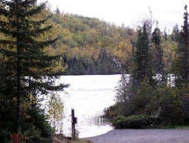 East Bearskin Campground in Superior National Forest near Grand Marais Minnesota