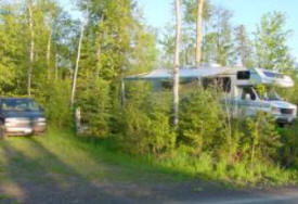 Golden Eagle Campgrounds near Grand Marais Minnesota