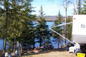 Gunflint Pines Resort & Campgrounds, near Grand Marais Minnesota