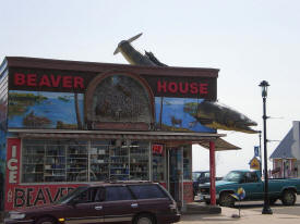 Beaver House Bait Shop, Grand Marais Minnesota