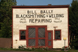 Bally's Blacksmith Shop, Grand Marais Minnesota
