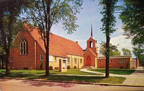 Zion Evangelical Lutheran Church Grand Rapids Minnesota, 1960's