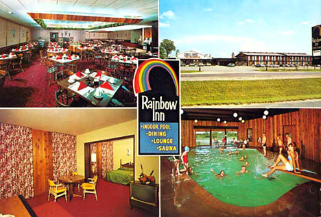 Rainbow Inn, Grand Rapids Minnesota, 1965