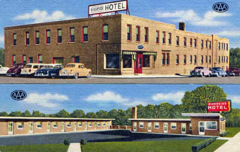 Riverside Hotel, Grand Rapids Minnesota, 1955