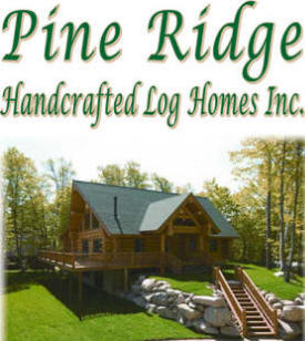 Pine Ridge Handcrafted Log Homes, Grand Rapids Minnesota
