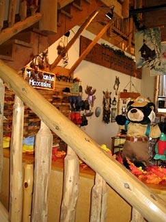 Hopperton's Moccasin & Gift Shop, Grand Rapids Minnesota