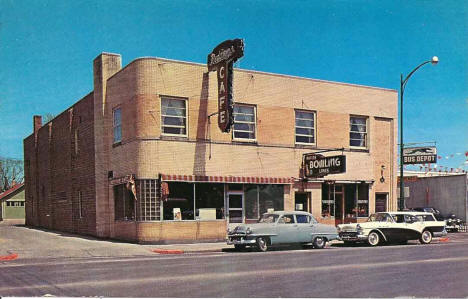 Redding's Cafe, Grand Rapids Minnesota, late 1950's