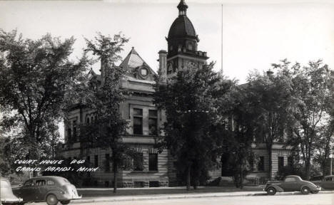 Courthouse, Grand Rapids Minnesota, 1940's