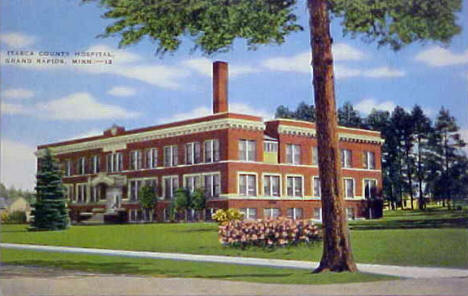 Itasca County Hospital, Grand Rapids Minnesota, 1939