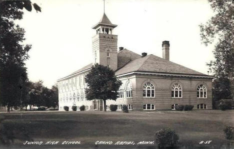 Junior High School, Grand Rapids Minnesota, 1930's