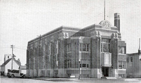 Village Hall, Grand Rapids Minnesota, 1930's