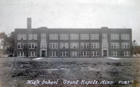 High School, Grand Rapids Minnesota, 1930's