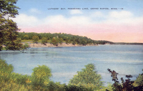 Luther's Bay, Grand Rapids Minnesota, 1940's