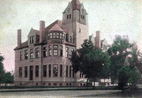 Yellow Medicine County Courthouse, Granite Falls Minnesota, 1910's