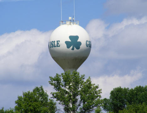 Water Tower, Green Isle Minnesota, 2011