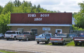 Tom's Body Shop, Greenbush Minnesota