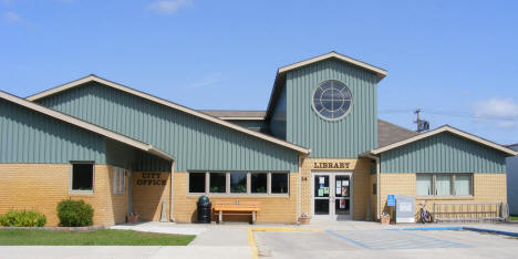 City Offices and Library, Greenbush Minnesota, 2009