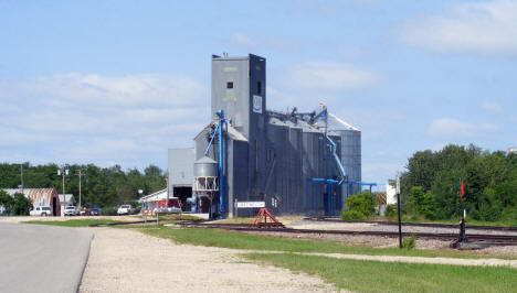 Grain elevators, Greenbush Minnesota, 2009
