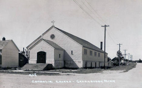 Catholic Church, Greenbush Minnesota, 1950's