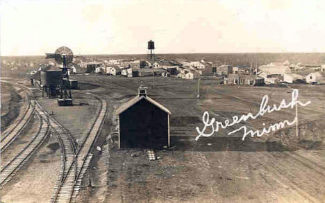 General View, Greenbush Minnesota, 1908