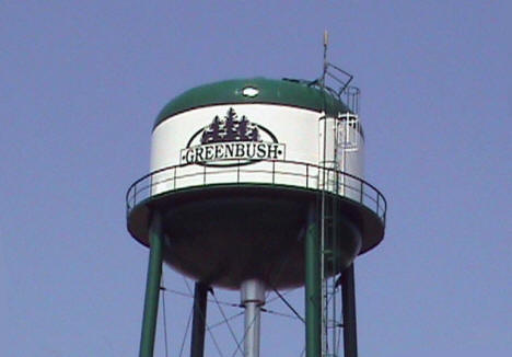 Water Tower, Greenbush Minnesota, 2008