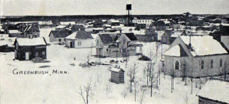 General view, Greenbush Minnesota, 1909