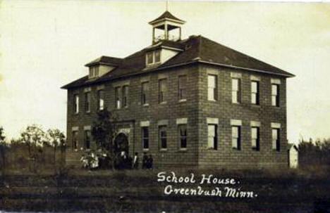 School House, Greenbush Minnesota, 1910's?