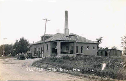 Creamery, Grey Eagle Minnesota, 1930's
