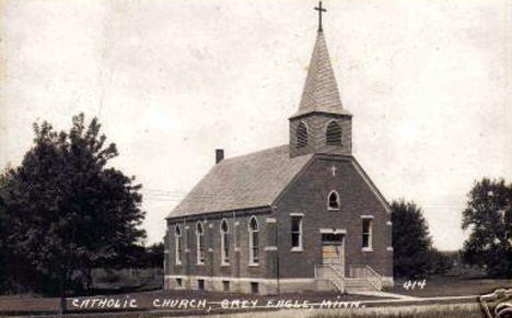 Catholic Church, Grey Eagle Minnesota, 1940's?