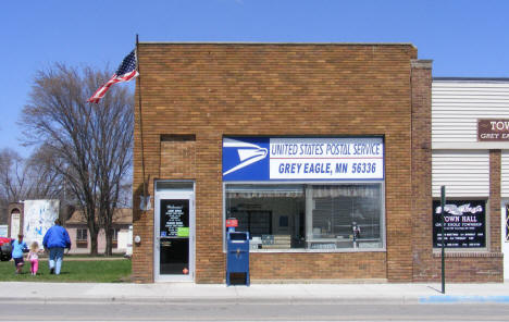 Post Office, Grey Eagle Minnesota, 2009