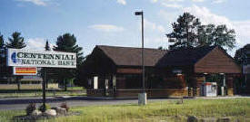 Centennial National Bank, Hackensack Minnesota