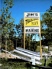 Jim's Trailers Plus & Marine, Hackensack Minnespta