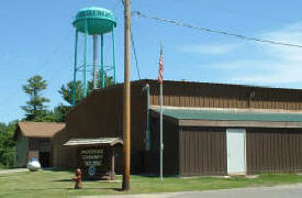 Hackensack Community Center, Hackensack Minnesota