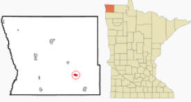 Location of Halma, Minnesota