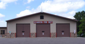Hamburg Fire Department, Hamburg Minnesota