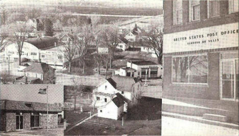 Multiple views, Hamburg Minnesota, 1973