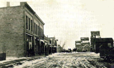 Atlantic Avenue, Hancock Minnesota, 1913