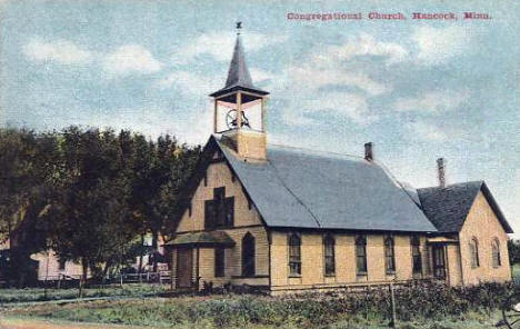 Congregational Church, Hancock Minnesota, 1910