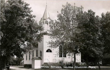 Christian Reformed Church, Hancock Minnesota, 1950's