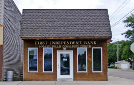 First Independent Bank, Hanley Falls Minnesota