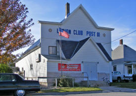 American Legion Post #81, Harmony Minnesota