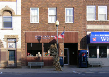 US Post Office, Harmony Minnesota