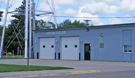 Fire Department, Hartland Minnesota, 2010