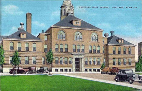 High School, Hastings Minnesota, 1930's