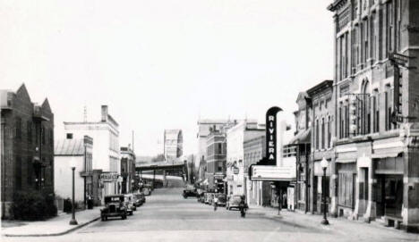 Sibley Street, Hastings Minnesota, 1930's